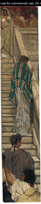 The Staircase - Sir Lawrence Alma-Tadema