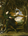 The Archers Double Portrait of Colonel John Dyke Acland and Thomas Townshend, Viscount Sydney - Sir Joshua Reynolds
