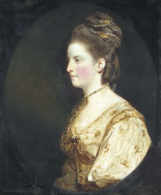 Portrait of Mrs Thomas Wodehouse - Sir Joshua Reynolds