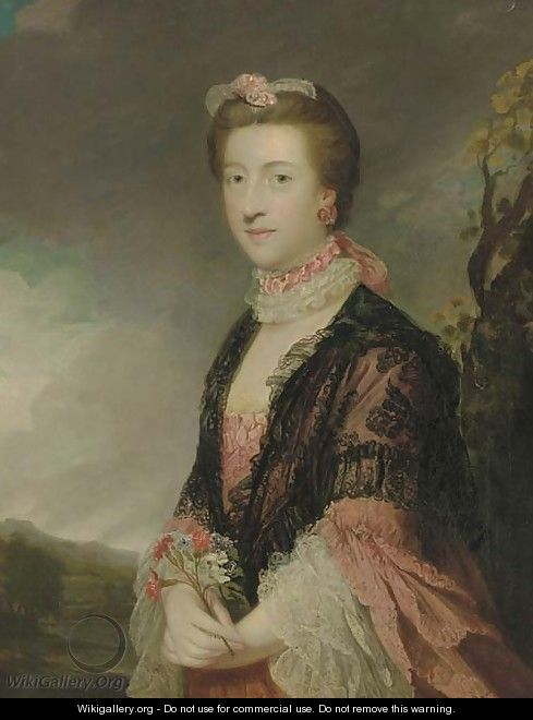 Portrait of Mary, Countess of Courtown, Lady of the Bedchamber to Queen Charlotte - Sir Joshua Reynolds