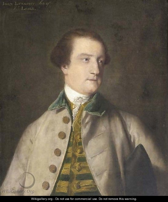 Portrait of John Lysaght (1729-98) - Sir Joshua Reynolds