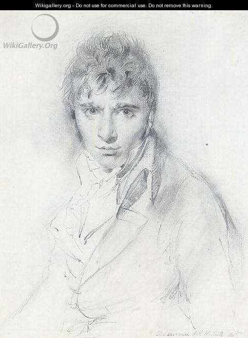Portrait of Richard Westall, R.A. (1765-1836) - Sir Thomas Lawrence