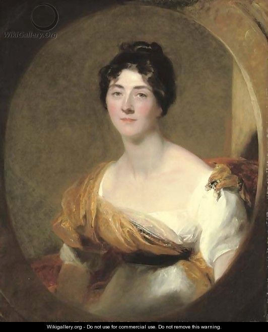 Portrait of a lady, probably Lucy Meredith, the artist