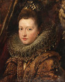 Portrait of Princess Margherita Gonzaga - Peter Paul Rubens