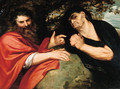 Democritus and Heraclitus - Peter Paul Rubens