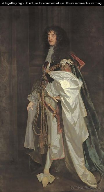 Portrait of Prince Rupert of the Rhine (1619-1682) - Sir Peter Lely