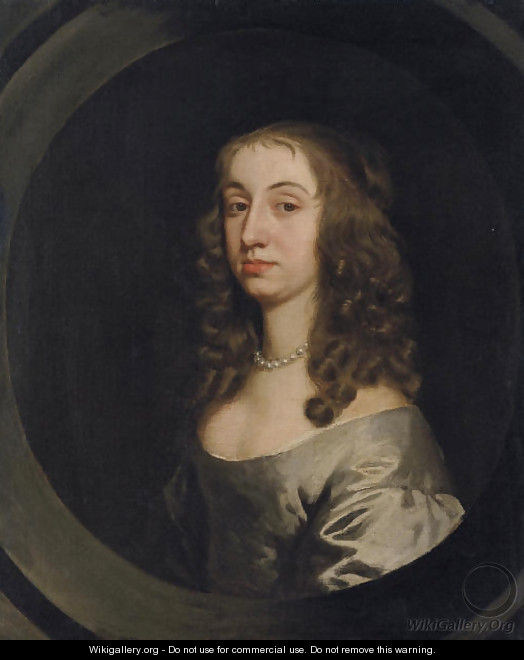Portrait of lady, traditionally identified as Jane, wife of Sir Nicholas Pelham - Sir Peter Lely