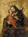 Saint Joseph and the Christ Child - Spanish Colonial School