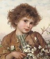 Spring blossom - Sophie Gengembre Anderson