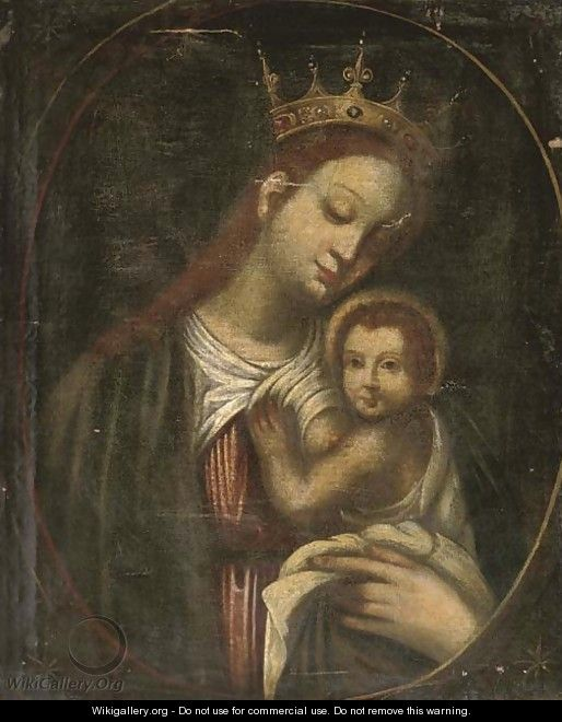 The Madonna and Child - Spanish School