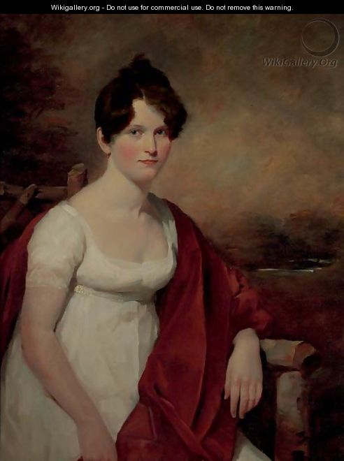 Portrait of Mrs. Catherine Deas (nee Low) - Sir David Wilkie