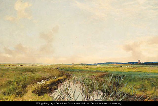 Norfolk Marshes - Sir Alfred East