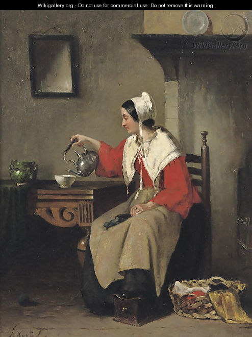 Pouring tea - Sipke Kool