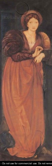 Fatima - Sir Edward Coley Burne-Jones