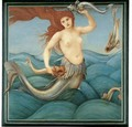 A Sea-Nymph - Sir Edward Coley Burne-Jones