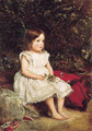 Portrait of Eveline Lees as a child - Sir John Everett Millais