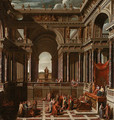 A Capriccio with Saint Paul before Agrippa - Sir James Thornhill