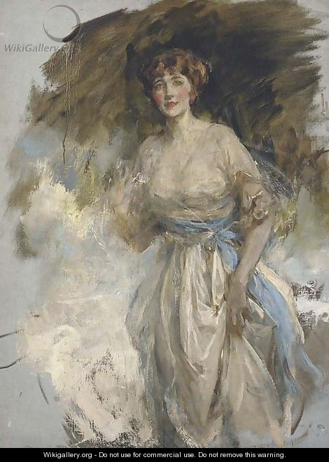 Portrait of Lady Grace Dance - James Jebusa Shannon