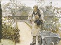 The old gardener - Sir Hubert von Herkomer