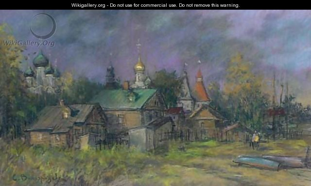 Village - Sergey Arsenievich Vinogradov