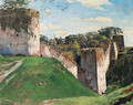 Walls of Pskov Lavra - Sergey Arsenievich Vinogradov
