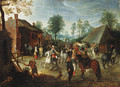 Horsemen halting at an inn - Sebastien Vrancx