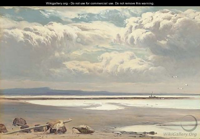 Retreating tide - Sidney Richard Percy