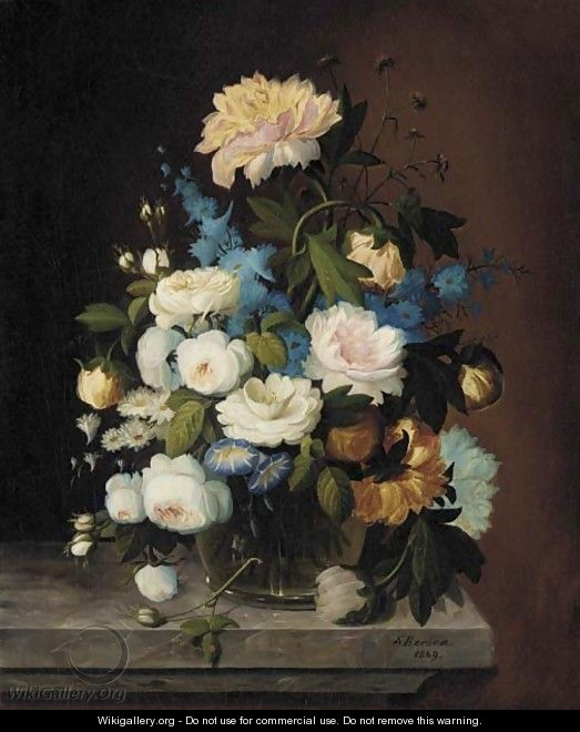 Bouquet of Flowers - Severin Roesen
