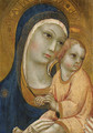 The Madonna and Child - Sano Di Pietro
