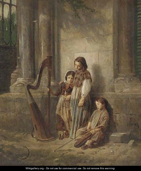The little musicians - Jaime Morera y Galicia