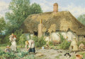 Hollen Lane, near Egham, Surrey - Myles Birket Foster