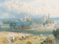 Edinburgh from the Forth - Myles Birket Foster