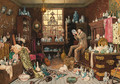 The Old Curiosity Shop - Myles Birket Foster