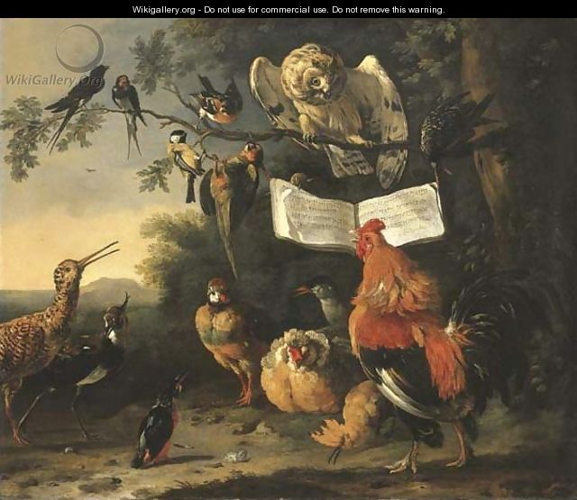 A Concert of Birds - Melchior D