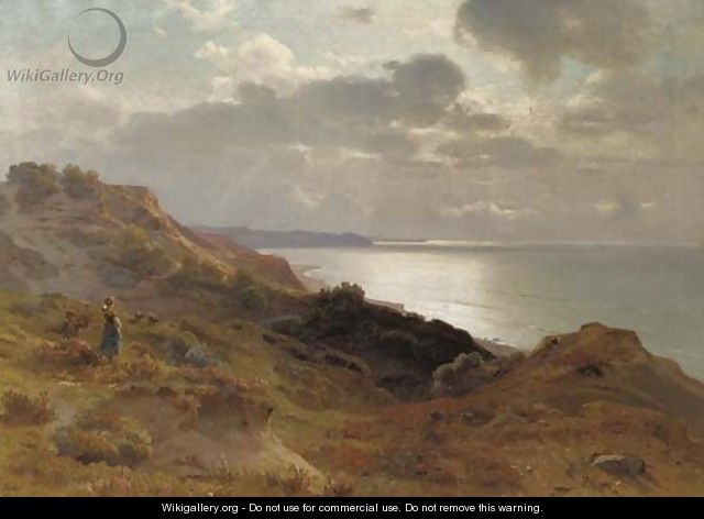 Looking out over the Ostsee - Max Schmidt