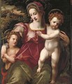 The Madonna and Child with the Infant Saint John the Baptist - Ridolfo Ghirlandaio