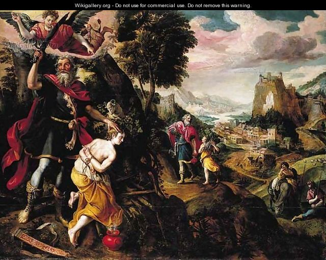 The Sacrifice of Isaac - Maarten de Vos