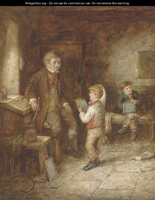 The mischievous schoolboy; and A question for grandma - Mark W. Langlois