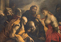 Christ and the Adulteress - Mattia Preti