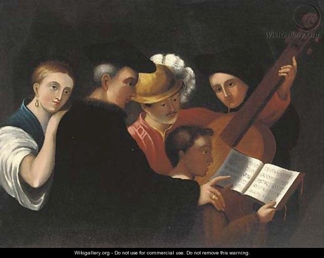 The music lesson - Caravaggio