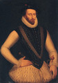 Portrait of Sir Walter Raleigh - (after) Marcus The Younger Gheeraerts
