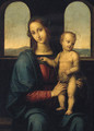 The Madonna and Child 2 - Pietro Vannucci Perugino