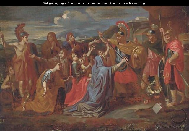 The Family of Darius before Alexander - (after) Nicolas Poussin