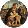 Madonna and Child with the infant Saint John the Baptist - Raphael