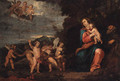 The Rest on the Flight into Egypt - (after) Sir Peter Paul Rubens
