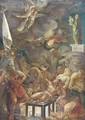 The Martyrdom of Saint Lawrence - (after) Sir Peter Paul Rubens