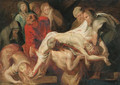 The Entombment - a sketch - (after) Sir Peter Paul Rubens