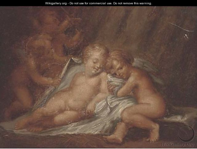 Putti desporting - (after) Rubens, Peter Paul