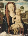 The Virgin and Child in a landscape - Hans Memling