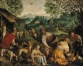 Country pursuits - Jacopo Bassano (Jacopo da Ponte)